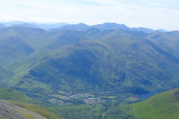 Photo of Looking down into Kinlochleven