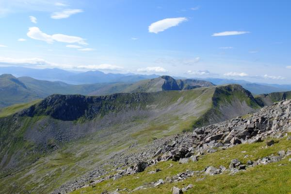 Photo of Stob Ban in distance