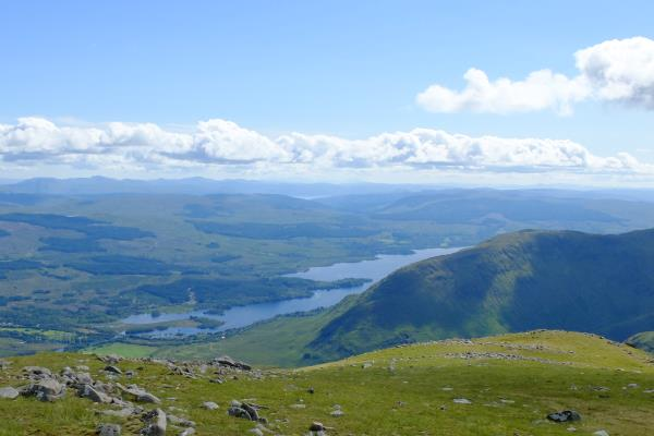 Photo of Looking down to Loch Awe