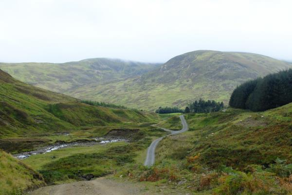Photo of Looking back before heading into Glen Lochan