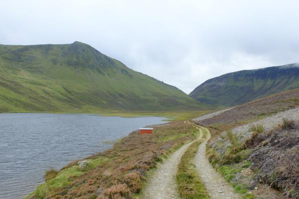 Photo of Looking back at Lochan a' Mhuilinn